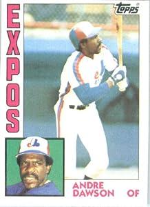 1984 Topps # 200 Andre Dawson Montreal Expos Baseball Card
