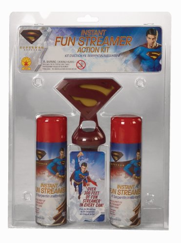 Superman Returns Instant Fun Streamer Action Kit with Belt Clip