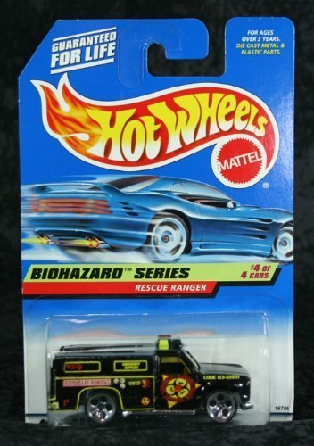 Mattel Hot Wheels 1998 1:64 Scale Biohazard Series Rescue Ranger Die Cast Car 4/4 #720 - 1