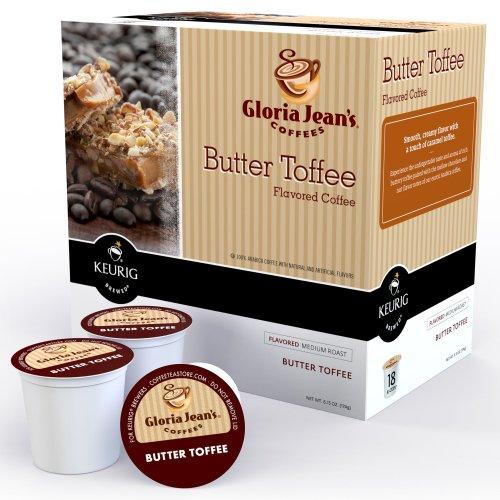 Keurig 0527 K-Cup Mini-Brewers, Gloria Jean'S Butter Toffee