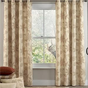 Next Star Anise Print Eyelet Ready Made Branded Curtains