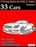 Coloring Book for Kids & Adults: Cars...