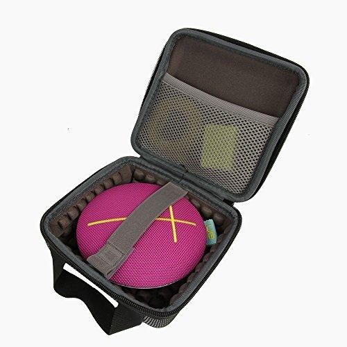 co2CREA EVA Transport Stockage Voyage sac étui Cas Case pour Ultimate Ears UE ROLL Enceinte Bluetooth Wireless imperméable haut-parleur avec Adaptateur et USB câble