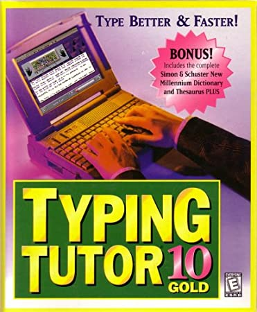 Typing Tutor 10 Gold with Bonus Dictionary & Thesaurus