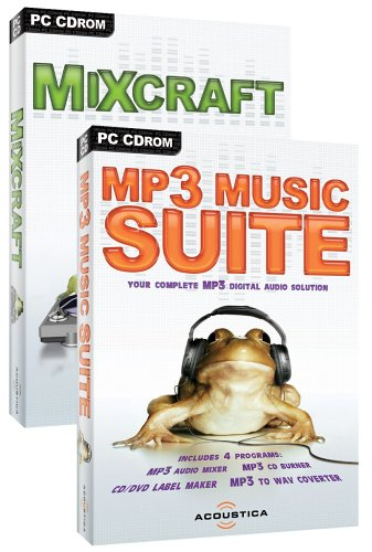 MP3 Music Suite & Mixcraft Bundle Pack
