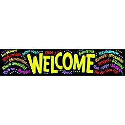 Trend Enterprises Quotable Expressions Banner, Welcome (T-25038)