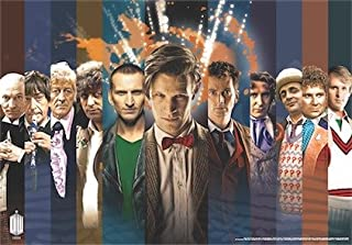 Doctor Who Wallpaper Mural - 50th Anniversary 3 (Fixed Size)