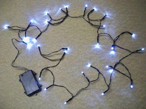 Best artificial 2 set da 30 luci led bianche multiuso - Luci a batteria per esterni ...