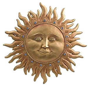 Ganz Celestial Sun Wall Plaque/Sign (Discontinued by Manufacturer)