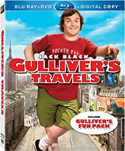 Gulliver's Travels (Blu-ray + DVD + Digital Copy) (Bilingual) [Import]