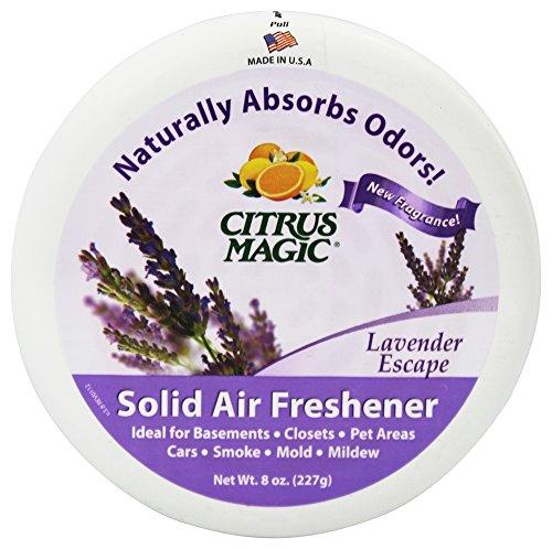 Citrus Magic Odor Absorber - Solid Lavender - Case of 6 - 8
