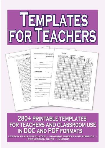 Templates For Teachers CD-ROM