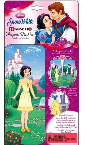 DISNEY SNOW WHITE MAGNETIC PAPER DOLL