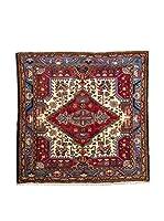 QURAMA Alfombra Persian Tuserkan Rojo/Multicolor 140 x 140 cm
