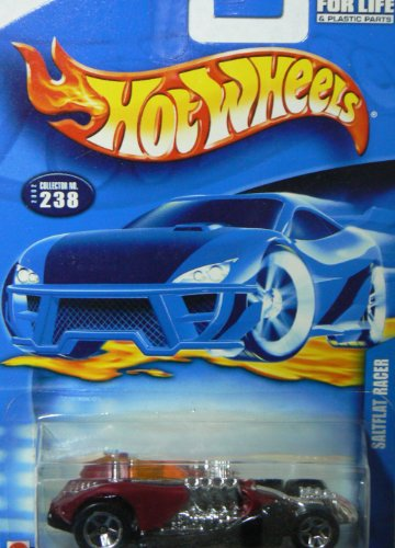 Hot Wheels 2002 Red Saltflat Racer Collector #238 5 Sp - 1