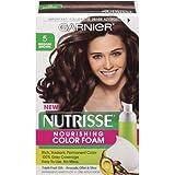 Garnier Nutrisse Nourishing Color Foam, Medium Brown (Pack of 3)