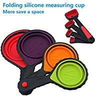 Portable Silicone Measuring Cups & Sp…