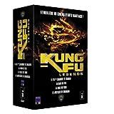 echange, troc Coffret Kung Fu legends 4 DVD : La 36ème chambre de Shaolin / La rage du tigre / Le justicier de Shangaï / La main de fer