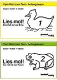 Lies mal!, Heft 1 und Hefte 2: Das Heft mit der Ente / Das Heft mit dem Frosch