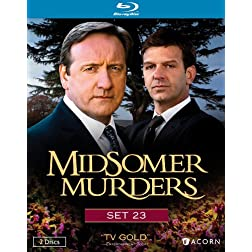 Midsomer Murders, Set 23 (Blu-ray)