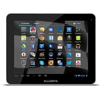 """Blusens Touch 97 Tablette avec WiFi, RK3188 Cortex A9, 2Go de mémoire vive, 16 Go de mémoire interne, Android) Noir 9,7"""""""