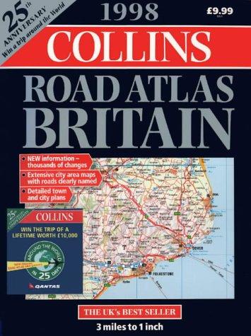 Collins Road Atlas: Britain: 1998
