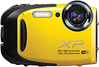 Fujifilm XP70 16 MP Digital Camera with 2.7-Inch LCD (Yellow) (Certified Refurbished)