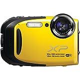 Fujifilm XP70 16 MP Digital Camera with 2.7-Inch LCD (Yellow) (Certified Refurbished)