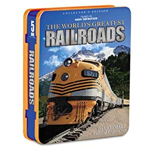 The World's Greatest Railroads (5-pk)(Tin)