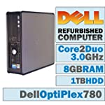 Dell OptiPlex 780 SFF / Core 2 Duo E8...
