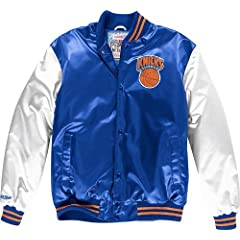 New York Knicks Mitchell & Ness NBA Sublimated Premium Jacket by Mitchell & Ness