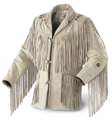 Scully Hand-laced Fringe Jacket - Buy Scully Hand-laced Fringe Jacket - Purchase Scully Hand-laced Fringe Jacket (Scully, Scully Mens Outerwear, Apparel, Departments, Men, Outerwear, Mens Outerwear)