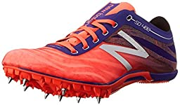 New Balance Women\'s SD400V3 Track Spike, Orange/Purple, 7 B US