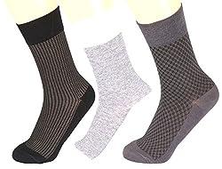 Abracadabra Men's Long Socks (Pack Of 3) (DNCS15011_Multi)