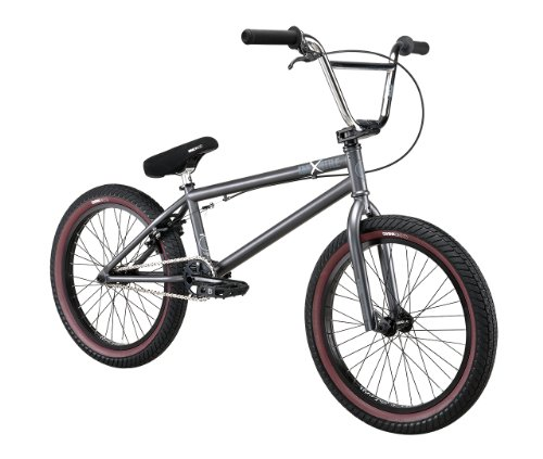 Kink Hittle Pro Model 2013 BMX Bike (Grey/Chrome, 21-Inch)