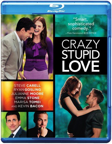 Blu-ray : Crazy, Stupid, Love. (With DVD, Digital Copy, O-Card Packaging)