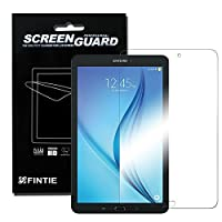 Fintie Samsung Galaxy Tab E 8.0 Ultra-Clear HD Screen Protector (3-Pack With Retail Packaging) - High Definition Invisible Protective Screen Film [Lifetime Replacement Warranty] from Fintie