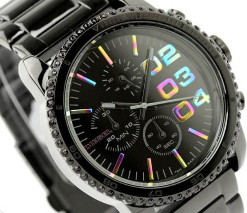 Franchise Women's Chronograph Watch Color: Black
