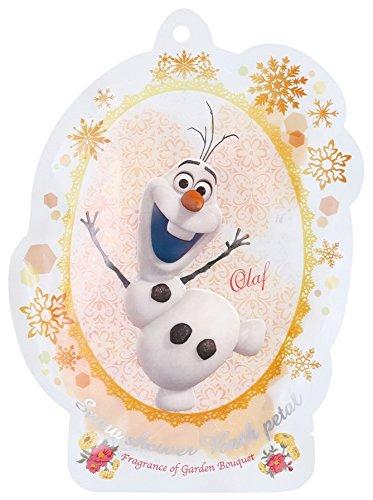 DISNEY バブルバス スノーシャワーバスペタル アナと雪の女王 たんぽぽの香り ガーデンブーケ DIPー78ー04