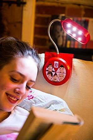 spearmark one direction direction lampe de chevet clipser rouge luminaires et et. Black Bedroom Furniture Sets. Home Design Ideas
