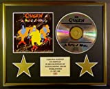 QUEEN/CD DISPLAY/LIMITED EDITION/COA/A KIND OF MAGIC