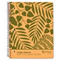 Earthwise Ampad 100% Recycled Wirebound Notebook, 11 x 8-7/8, Tan Cover, White Paper, College Rule, 3-Subject, 1-Each
