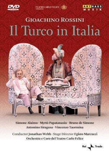 Teatro Carlo Felice Di Genova - Rossini - Il Turco In Italia [DVD] [2009] [2010]