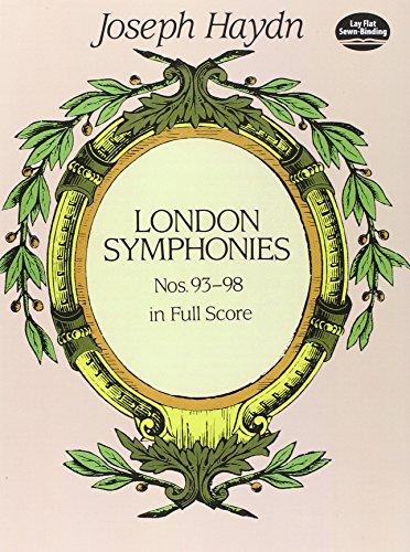London Symphonies Nos. 93-98 (Dover Music Scores) (London Symphonies Dover compare prices)