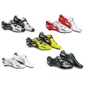 Sidi Wire Carbon Vernice Road Shoes 2014 Yellow-Black 47