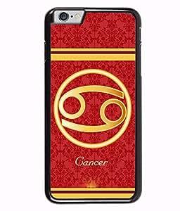 Fuson 2D Printed Sunsign Cancer Designer back case cover for Apple iPhone 6 Plus - D4397
