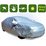 RockyMRanger Universal Full-size Car Cover 10 Layer Heavy Duty Waterproof Material YCHH3