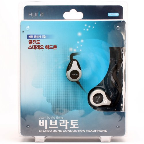 Pro Audio Streo Bone Conduction Aqua Vibrator Earphone Headphone Earfree Huh-01