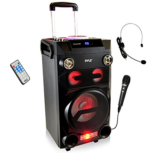 Pyle PORTABLE BT KARAOKE SPEAKER SYSTEM PWMA335BT
