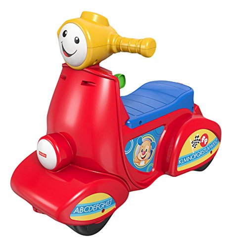 Fisher Price - Fisher price rie y aprende mi primera moto CGT10 - M544
